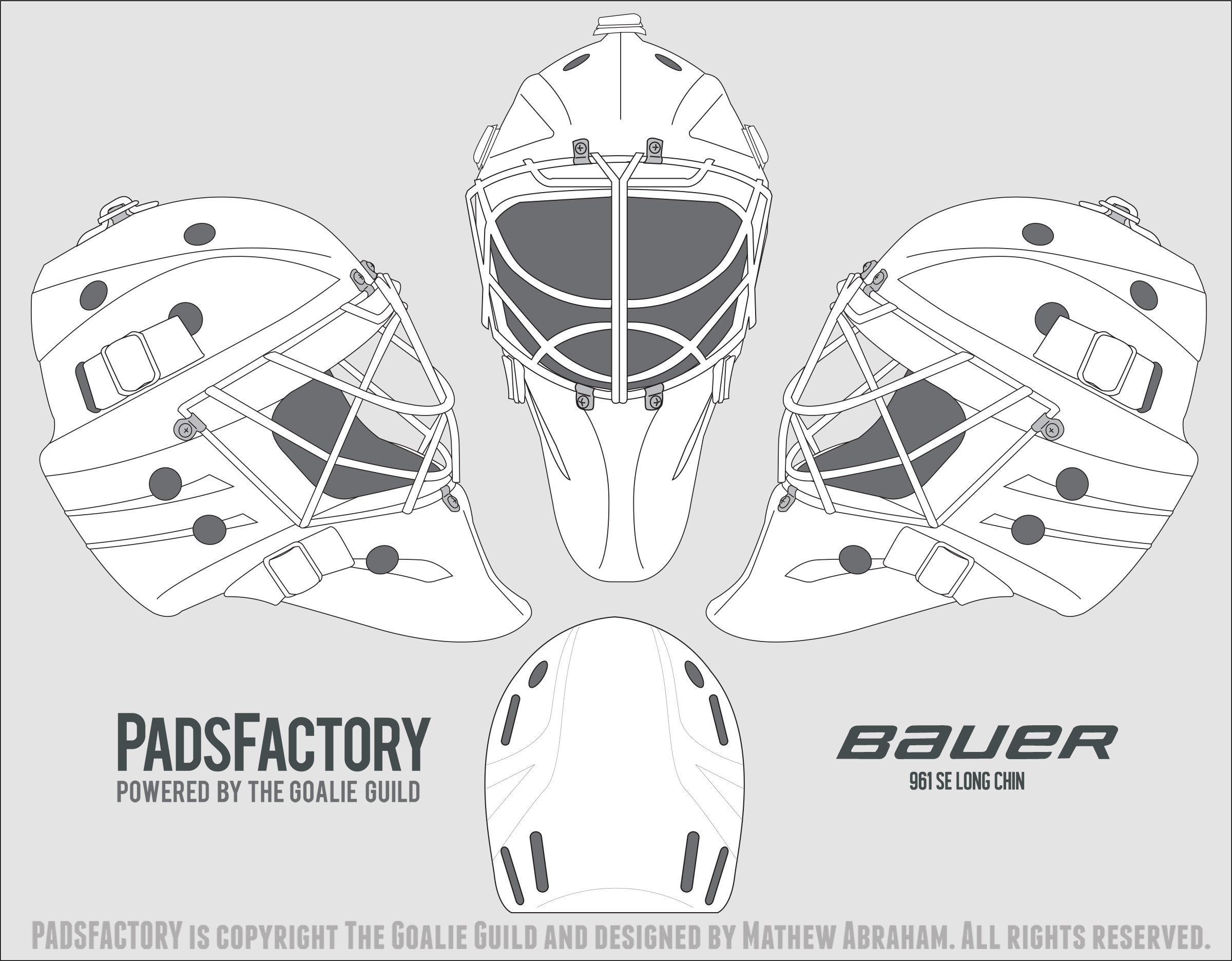 goalie mask mask template and masks on pinterest. Black Bedroom Furniture Sets. Home Design Ideas