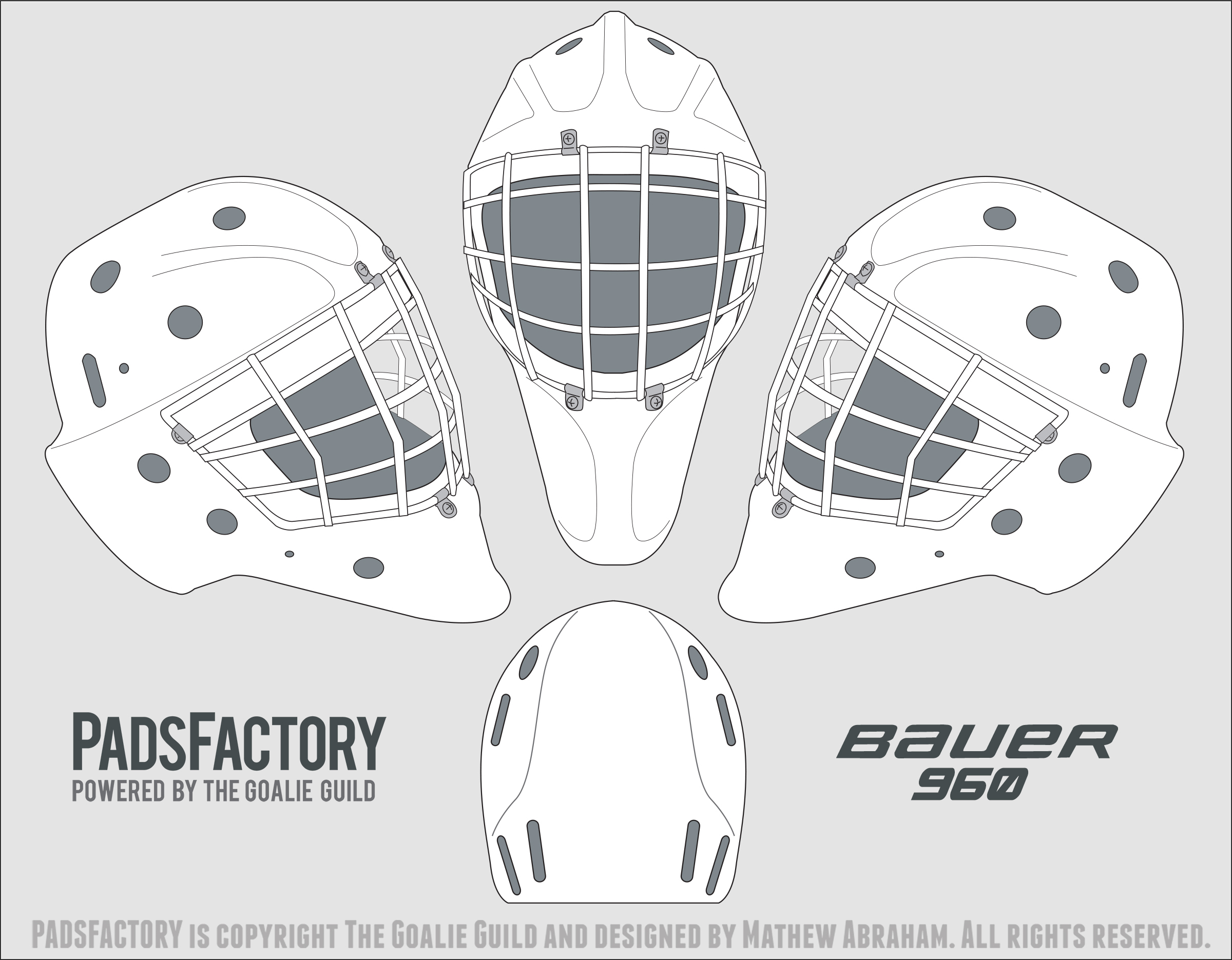 bauer goalie mask template - bauer goalie mask template pictures to pin on pinterest