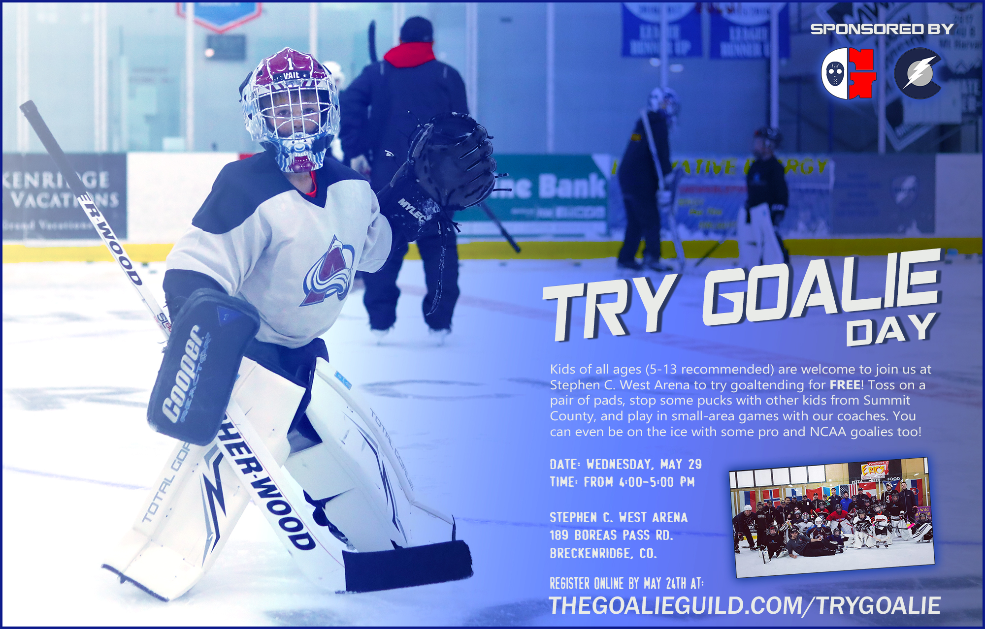 Try Goalie Events The Goalie Guild